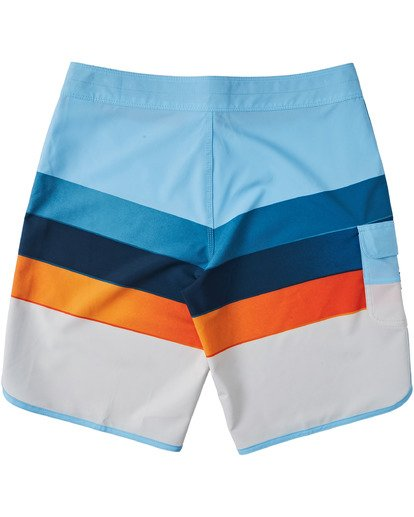 "1 73 Stripe Pro Boardshorts 20"" Blue M1271BST Billabong"