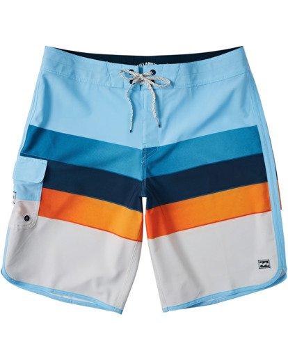 "0 73 Stripe Pro Boardshorts 20"" Blue M1271BST Billabong"
