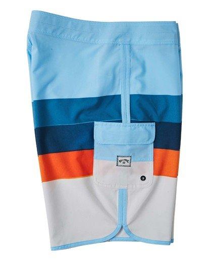 "3 73 Stripe Pro Boardshorts 20"" Blue M1271BST Billabong"