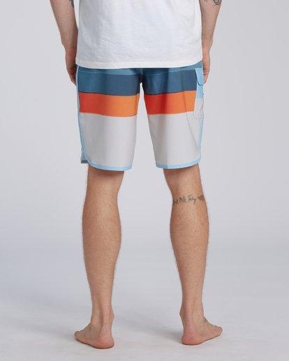 "7 73 Stripe Pro Boardshorts 20"" Blue M1271BST Billabong"