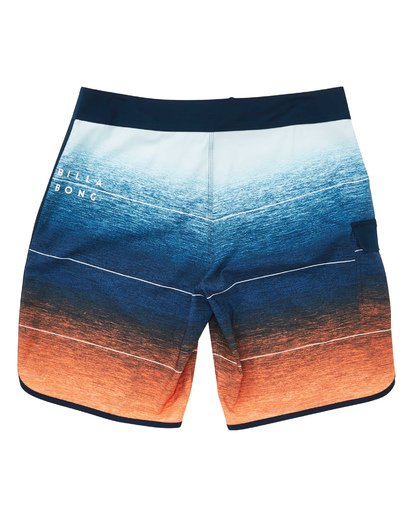 1 73 Stripe Pro Boardshorts Orange M127TBST Billabong