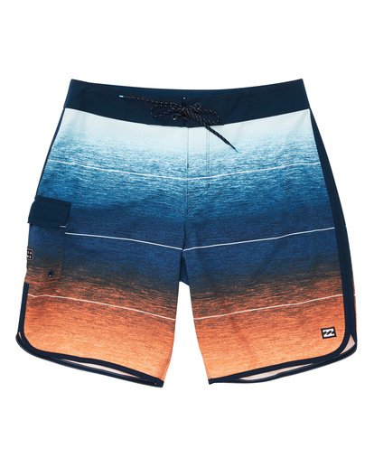 0 73 Stripe Pro Boardshorts Orange M127TBST Billabong