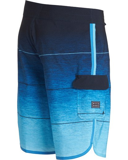 3 73 Stripe Pro Boardshorts Blue M127TBST Billabong