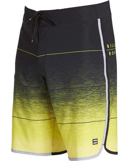 2 73 Stripe Pro Boardshorts Yellow M127TBST Billabong