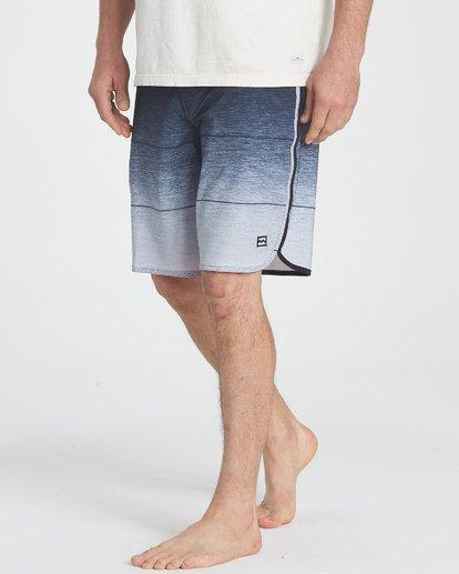 5 73 Stripe Pro Boardshorts Grey M127TBST Billabong
