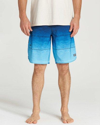 8 73 Stripe Pro Boardshorts Blue M127TBST Billabong