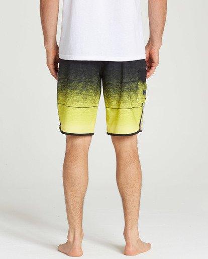 5 73 Stripe Pro Boardshorts Yellow M127TBST Billabong