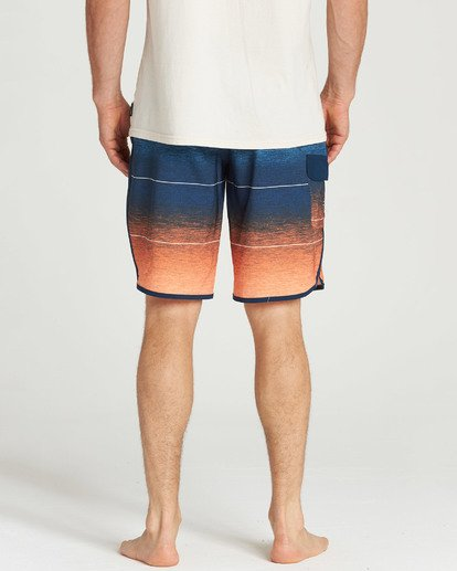 5 73 Stripe Pro Boardshorts Orange M127TBST Billabong