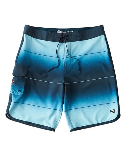 0 73 Stripe Pro Boardshorts Blue M127VBST Billabong