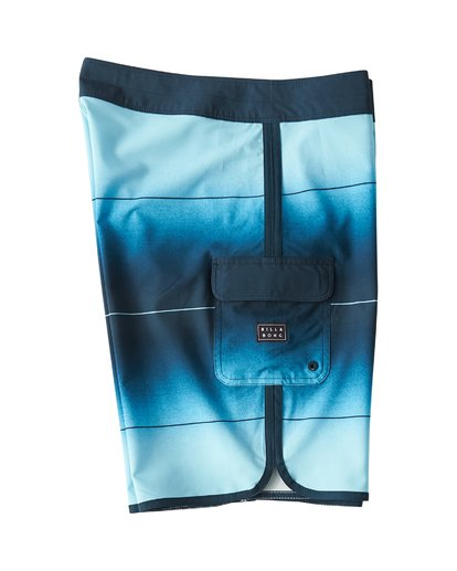 3 73 Stripe Pro Boardshorts Blue M127VBST Billabong