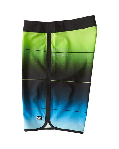 2 73 Stripe Pro Boardshorts Green M127VBST Billabong