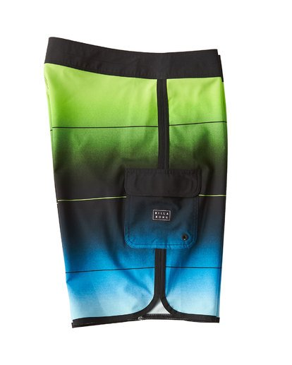 3 73 Stripe Pro Boardshorts Green M127VBST Billabong