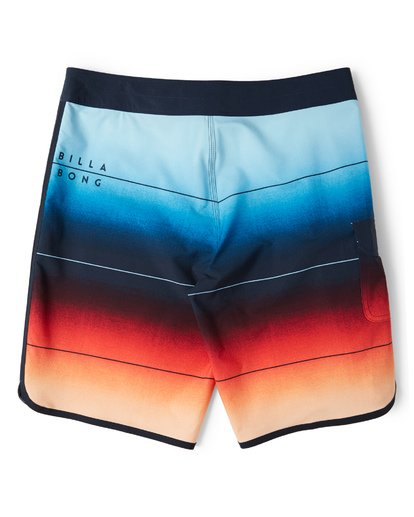 1 73 Stripe Pro Boardshorts Red M127VBST Billabong