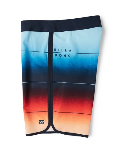 3 73 Stripe Pro Boardshorts Red M127VBST Billabong