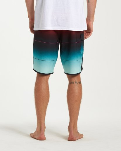 9 73 Stripe Pro Boardshorts Green M127VBST Billabong