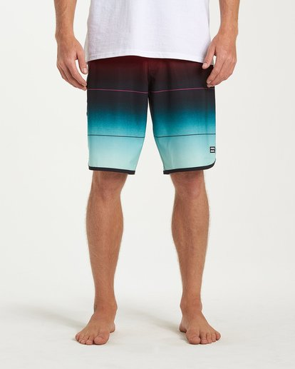 6 73 Stripe Pro Boardshorts Green M127VBST Billabong