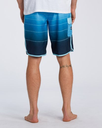 5 73 Stripe Original Boardshorts Blue M1281BSM Billabong