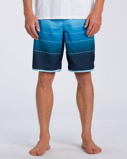 2 73 Stripe Original Boardshorts Blue M1281BSM Billabong