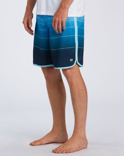 4 73 Stripe Original Boardshorts Blue M1281BSM Billabong