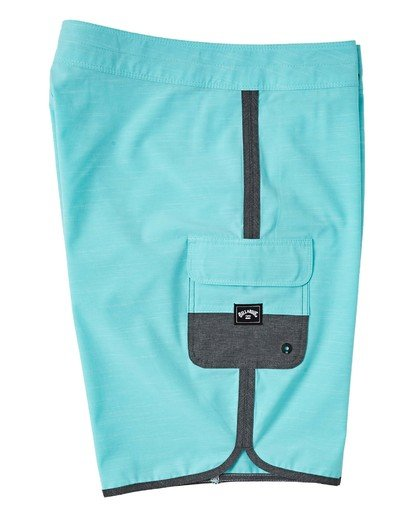 "3 73 Pro Boardshort 20"" Green M1281BSP Billabong"