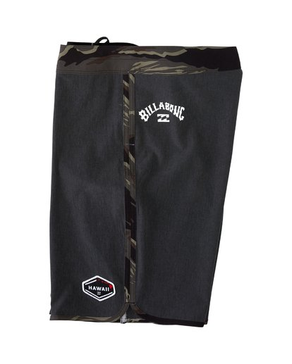 3 73 Pro Hawaii Boardshorts Black M1283BSD Billabong