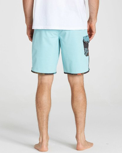 5 73 X Boardshorts Green M128NBST Billabong