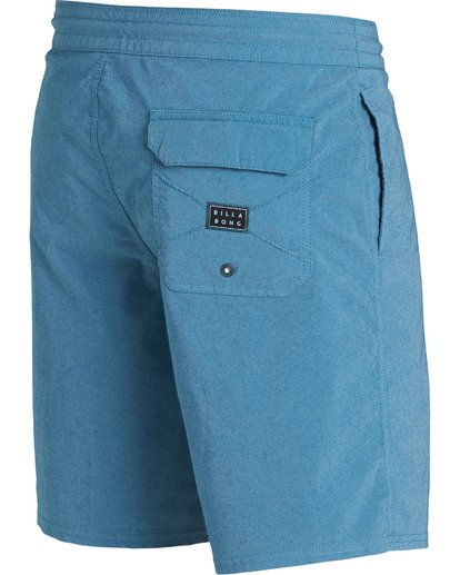 2 Wave Washed Lo Tides Boardshorts Blue M128QBWS Billabong