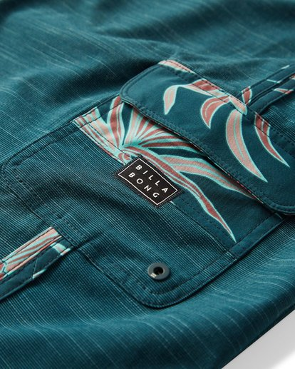 5 73 Pro Boardshorts Blue M128TBSE Billabong