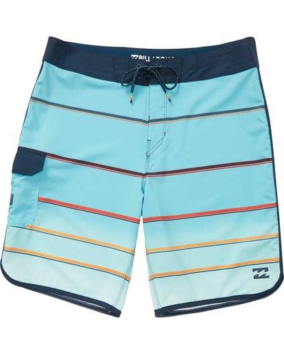 0 73 X Stripe Boardshorts Green M129NBSS Billabong