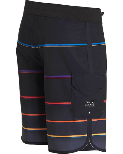 2 73 X Stripe Boardshorts  M129NBSS Billabong