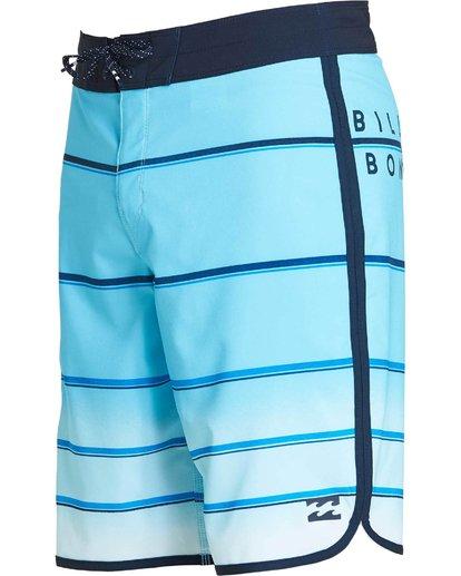 1 73 X Stripe Boardshorts Blue M129NBSS Billabong