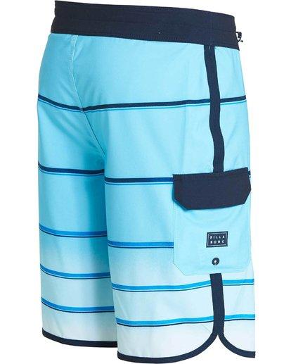 2 73 X Stripe Boardshorts Blue M129NBSS Billabong