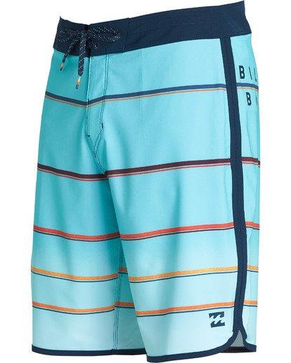 1 73 X Stripe Boardshorts Green M129NBSS Billabong