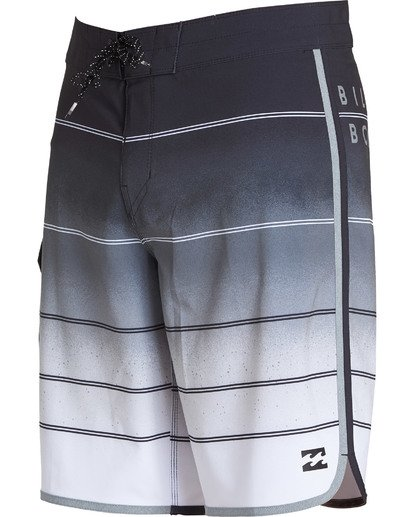 2 73 X Stripe Boardshorts Grey M129NBSS Billabong