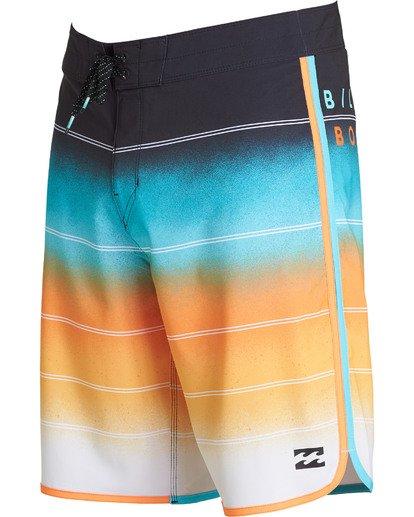 2 73 X Stripe Boardshorts Red M129NBSS Billabong