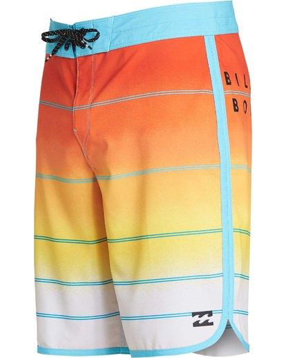 1 73 X Stripe Boardshorts Yellow M129NBSS Billabong