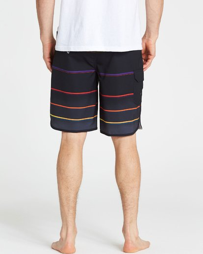 4 73 X Stripe Boardshorts  M129NBSS Billabong