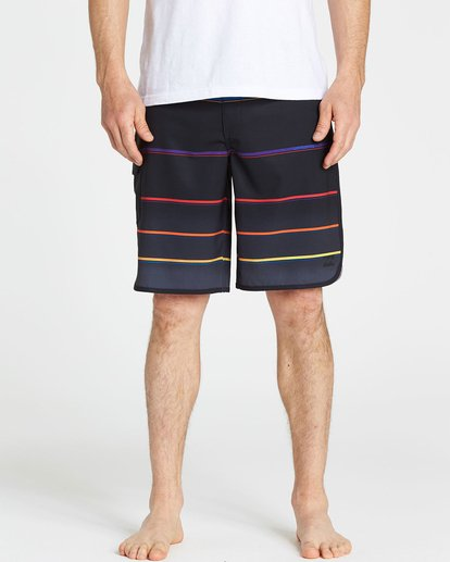 3 73 X Stripe Boardshorts  M129NBSS Billabong