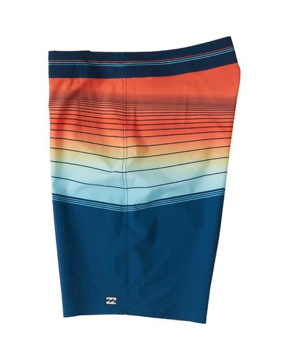 "2 North Point Pro Boardshort 20"" Blue M1301BNP Billabong"
