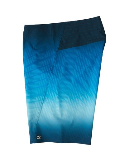"2 Fluid Pro Boardshort 20"" Blue M1311BFP Billabong"