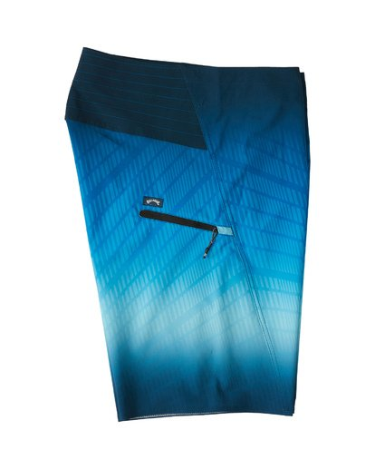 "3 Fluid Pro Boardshort 20"" Blue M1311BFP Billabong"