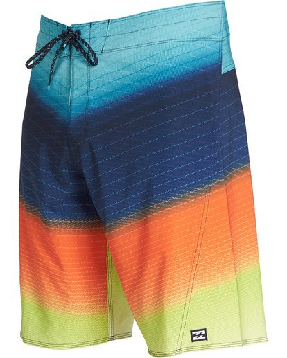 2 Fluid Pro Boardshorts Orange M131TBFL Billabong