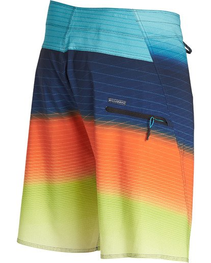 3 Fluid Pro Boardshorts Orange M131TBFL Billabong
