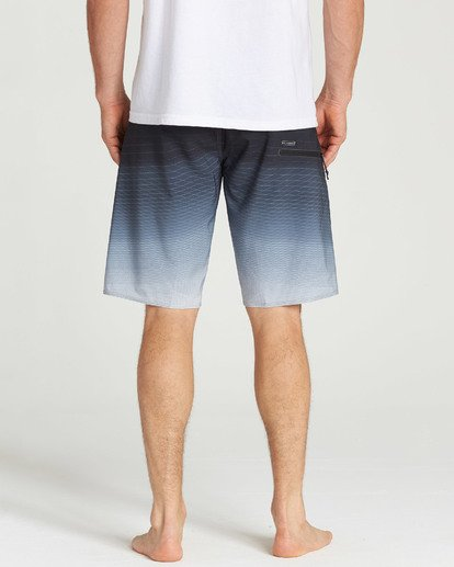 9 Fluid Pro Boardshorts Grey M131TBFL Billabong