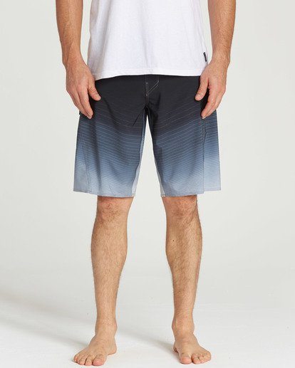 8 Fluid Pro Boardshorts Grey M131TBFL Billabong