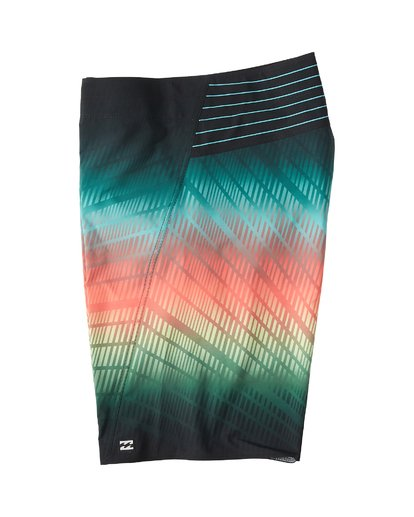 "2 Fluid Pro Boardshort 21"" Black M131VBFL Billabong"