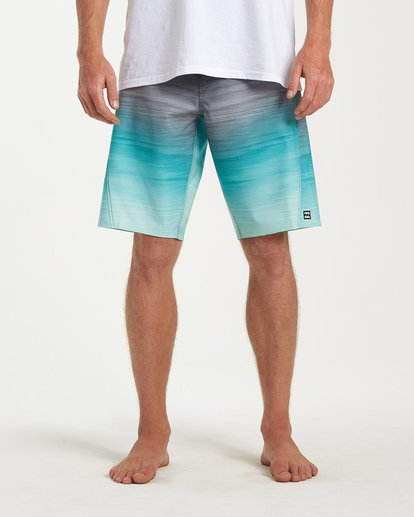 6 Fluid Pro Boardshorts Green M131VBFL Billabong