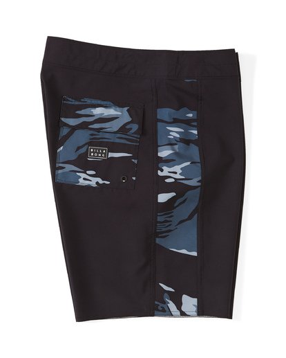 "2 D Bah Pro Boardshort 19"" Black M1321BDS Billabong"