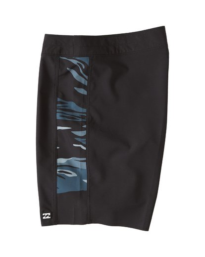 "4 D Bah Pro Boardshort 19"" Black M1321BDS Billabong"