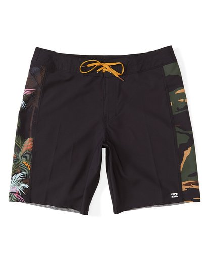 "0 D Bah Pro Boardshort 19"" Black M1321BDS Billabong"